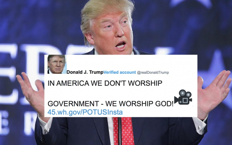 Is Donald Trump Doing God's Work?