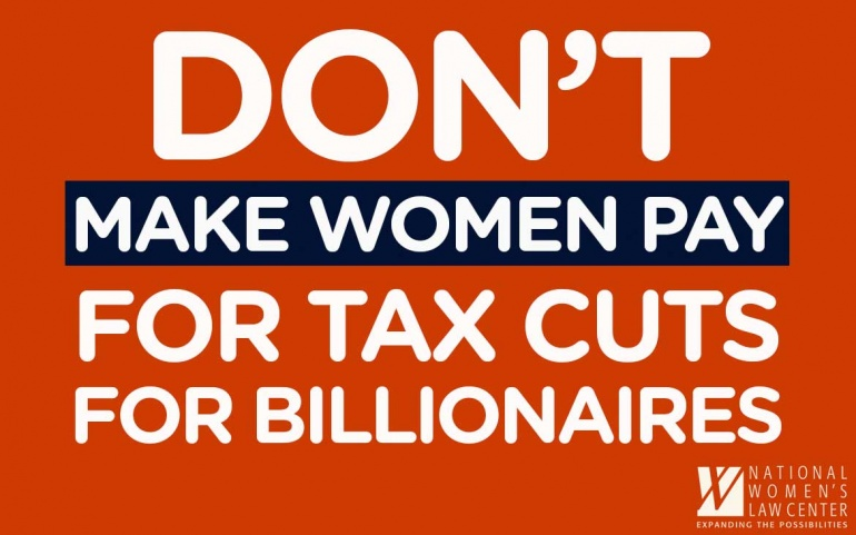 The Tax Bill is a Raw Deal for Women