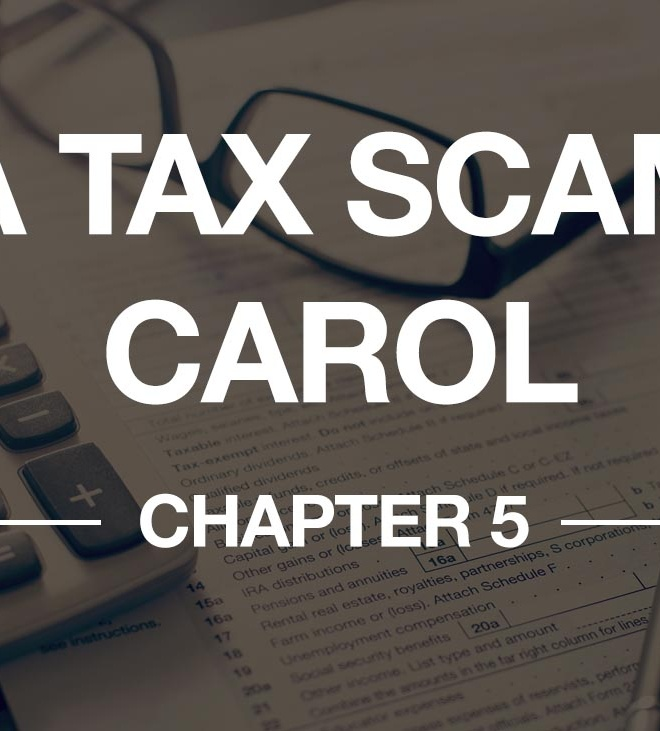 A TAX SCAM CAROL – CHAPTER 5