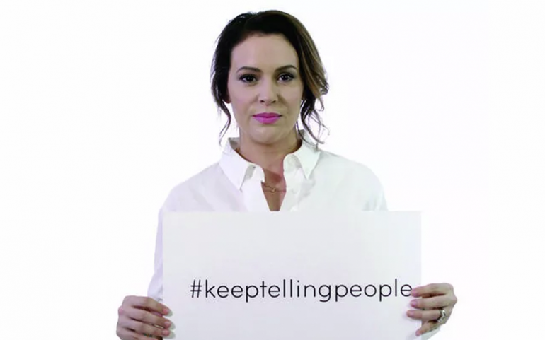 Creative Coalition urges victims of sexual assault and harassment to #KeepTellingPeople