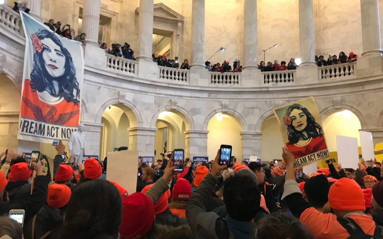 Nearly 100 Arrested and Over 700 Rally for the Dream Act