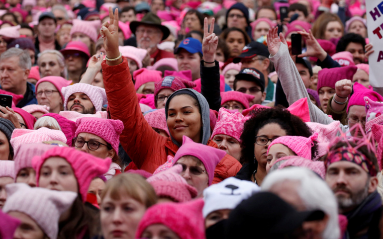 It Is Not the Pink Pussy Hats. It is the Sexism.