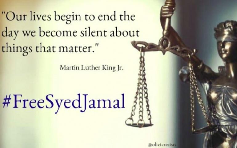 #FreeSyedJamal