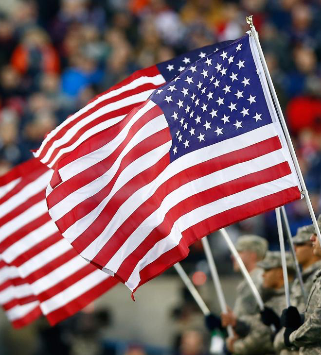 The Military and NFL Can Finally Meet on the National Pitch