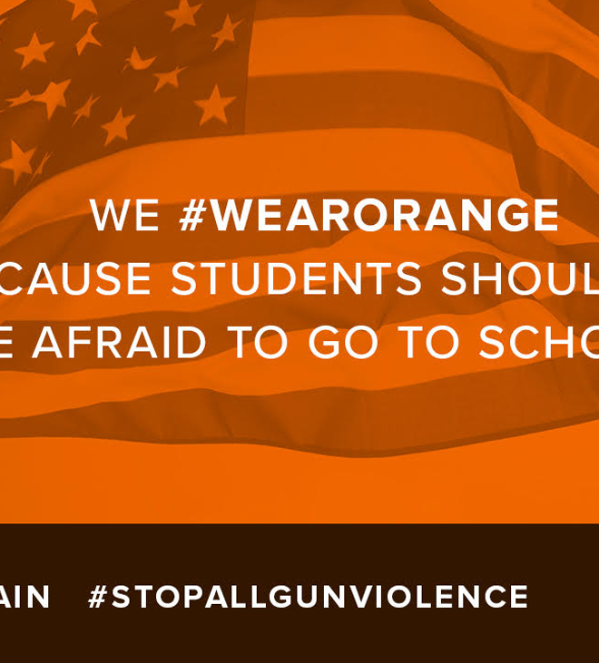 Wear Orange to Stop Gun Violence in All Its Forms