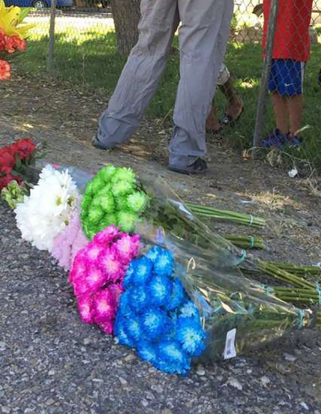 SUPPORT THE VICTIMS OF THE ATTACK IN BOISE