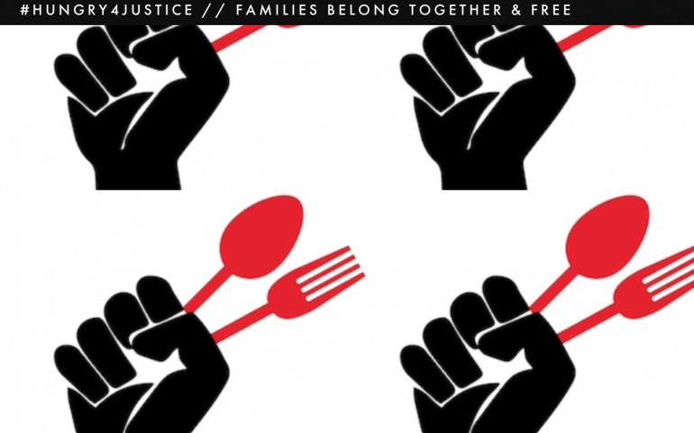 National Rolling Hunger Strike for Family Reunification Kicks Off in Oakland, CA