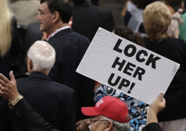 "End the ""Lock her up"" chants and leave the Clintons alone"