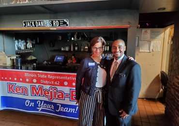 Patriot Not Partisans own Ken Mejia- Beal is running for office!